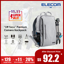 ★Elecom Japan★Off Toco Premium Camera Bag/Backpack.Laptop.Tripod. [2018 New Model]