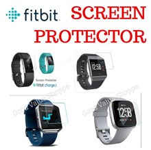 ★ Fitbit Versa * Charge3 * Charge2 *Ionic * Blaze Alta HR Screen Protector Film / Tempered Glass