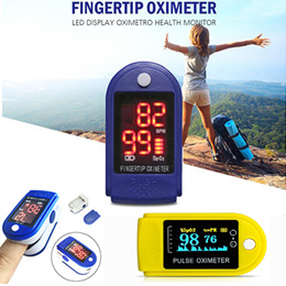 ★Best Gift For your Family★Finger Oximeter LED Fingertip Pulse Oxymeter Blood Oxygen SpO2 Monitor