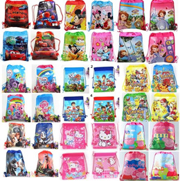 Frozen/Minions/Avengers/Drawstring bag/*backpack*swim bag/Small string bag/Kids party