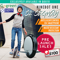 ⌛$788 SUPER PRE-LAUNCH SALES❗⌛ NINEBOT One S2 SEGWAY  ★Latest and Newest Unicycle★Water Resistant