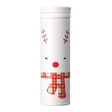 Starbucks Christmas JNO Smile rudolph thermos 500ml