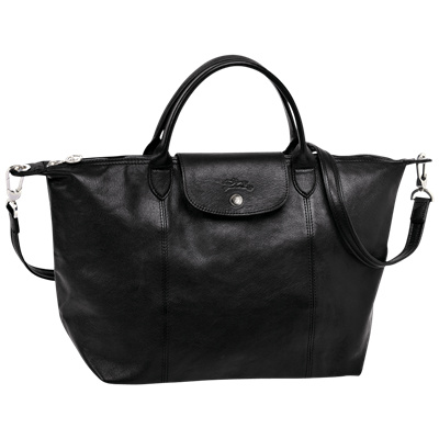 a7f0a291b660 LONGCHAMP Le Pliage Cuir Series   Crossbody   Top Handle S M   Leather Bag    1512
