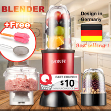 🚚 LOCAL⚡3 Gifts⚡Blend Ice👍BAP FREE👍Nutri Blender Multifunction Smoothie Juicer/Mixer/Meat Grinder