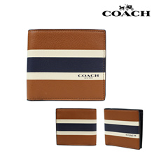 Authentic COACH Men Wallets F75399 with Box - Ship from SG - Father Day Christmas Gift
