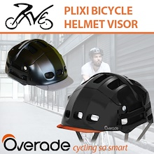 Visor Protective Plixi Helmets Cover (For Cycling / Skateboard etc) / One Size Fits All