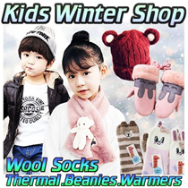 Kids-Teenagers 2-16 Yrs Old Winter Thermal Wear Gloves Beanie★Wool Socks★Gloves★Warmer★ Jacket★
