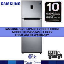 samsung 2 door fridge 362l capacity rt35k553asl 3 ticks 10 years warranty on compressor