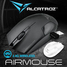 2018 Best Seller Alcatroz Air-Mouse V.2 - Hi Res Wireless Optical Mouse Restocked! Battery Included. Ultra Low Battery Consumption. Local 24 Months Warranty!