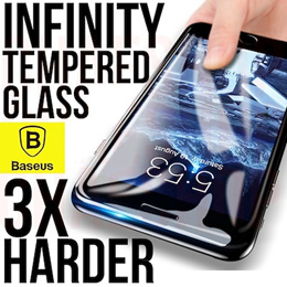 Baseus iPhone X / XS / Max / XR Infinity Tempered Glass (Anti-Blue Light + Clear) 0.23mm 3D Protect