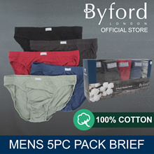 BYFORD 5PCS MENS HIPSTER BASIC #774312