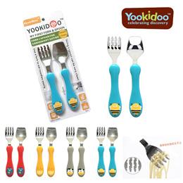Children stainless steel cutlery set (Fork + Spoon) /flatware utensils/ tableware Dinnerware