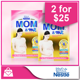 Bundle of 2 PROMO!!! [Nestle] MOM ME® Nutritional Supplement 350g x 2