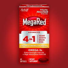 SCHIFF Mega Red 4in1 Krill Oil Omega 3 900mg 40 tablets