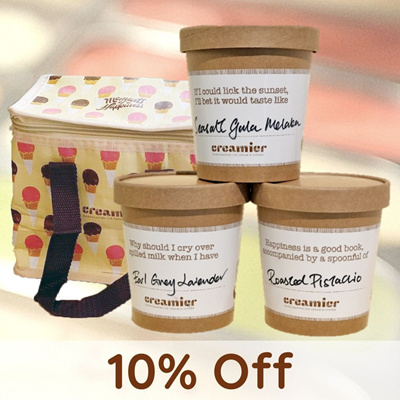 Signature Trio w/ Creamier Chiller Bag (U.P. $44)