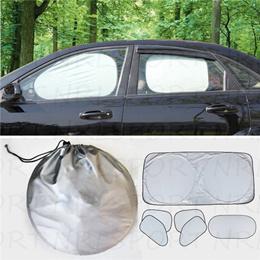 ACTLATI 6pcs//set Car Sun Shade Window Windshield Sun Visor Protector