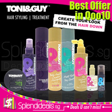 [BEST OFFER in Qoo10] Toni n Guy - Hair Styling and Treatment Series