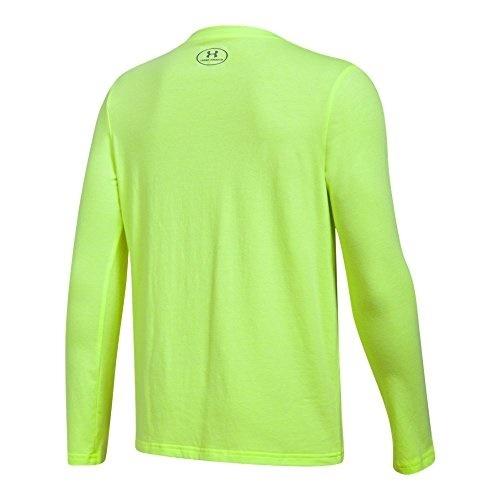 092aab2d7 Under Armour Boys Crossbar Logo Long Sleeve T-Shirt Sports & Outdoors