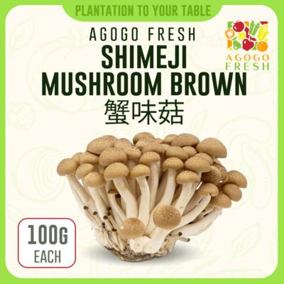 57 Shimeji Mushroom Brown 蟹味菇 (100g)