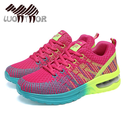 LUONTNOR Sport Woman Running Shoes Outdoor Breathable Lightweight Sneakers  Female Athletic Cushionin fd2b568e555a