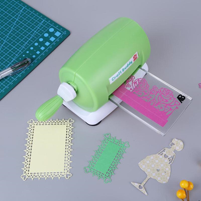 DIY Die Cutting Machine Embossing Scrapbooking Craft Cutter Piece Die Album  Paper Card Cutter Die-Cu