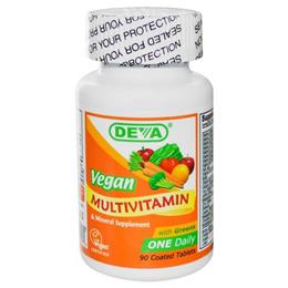 Deva Multivitamin & Mineral Supplement Vegan 90 Coated Tablets