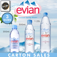 Evian Carton Sales 300ml/500ml/1.25L- Long Expiry