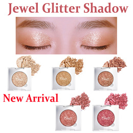 【BBIA】New Arrival Jewel Glitter Shadow★Korea Hot item★Gorgeous Color/Highly pigmented Shadow/5Colors