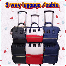 Premium Anello  luggage bag shopping bag Large Trolley Backpack Carry on Travel Cabin Luggage