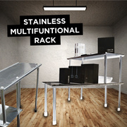 STAINLESS MULTIFUNTIONAL RACK
