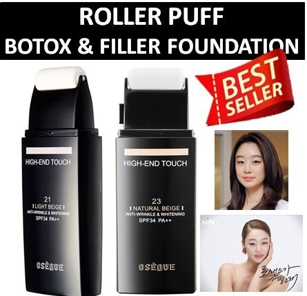 ?ROLLER PUFF?ROLLER PUFF?SOLD 1 MILLION PIECES IN KOREA? High-End Touch 21/23?OSEQUE? Deals for only Rp39.000 instead of Rp39.000