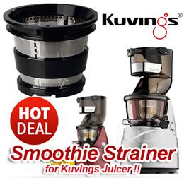 ★SUPER SALE!!★ KUVINGS Smoothie Strainer - Smoothie Network KJ-623S KJ-622R B6000 Filter Series
