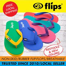 ★FESTIVE GROUP BUY★[Flips™]★100% Rubber Slippers/Flip flops/Non-skid | Signature item | Best Selling