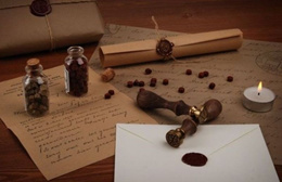 *SUNMOON* Wax Seal Stick / Stamp / Sealing Wax Stamp / Alphabet / Letters
