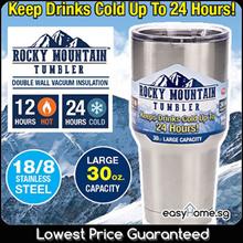 Rocky Mountain Tumbler /Keep Drinks Cold Hot /Stainless Steel Vacuum Cup Mug Water Bottle /BPA free