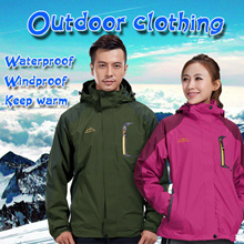 Men and women autumn winter  outdoor jacket coat wear clothing Down Jacket Keep warm Windproof Waterproof Ski Rock climbing jacket
