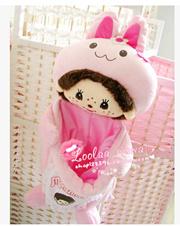 Home Cute cartoon plush toy doll animal Kiki storage tank couples debris tank 0.25KG