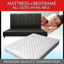 [Furniture Specialist] Mattress + Bedframe Package - Bed Available in 6 / 8 / 10 Inch