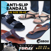 0bce561bec79f8 Time Sale  CAMOU  Anti Slip Men Sandals - Comfort Sandals - Casual Sandals  - Good Quality
