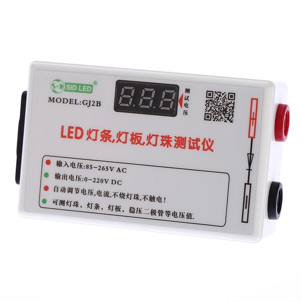 Portable LED Strip Light Lamp Panel Bead Regulated Voltage Diode Tester  Meter Voltmeter Automatic Adjustment AC85-265V DC0-220V