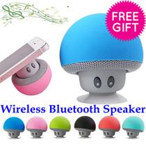 Wireless Mini Bluetooth Speaker Portable Mushroom Waterproof Stereo Speaker for iPhone Xiaomi Laptop