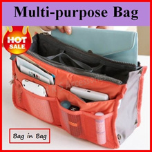 【Special OFFER】★Cheapest★Bag In Bag Organizer Travel Pouch★Multi Purpose BIB★Cosmetics Bag★Shoe Bag