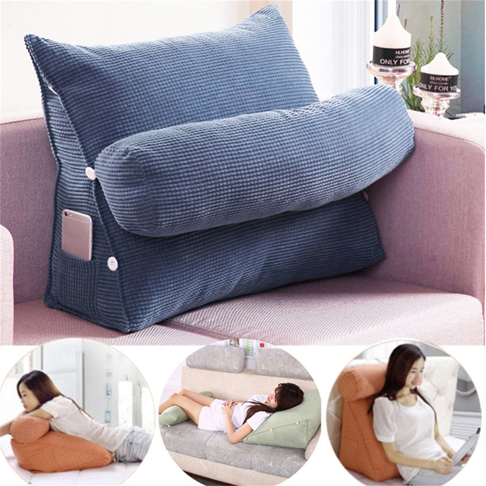 Sofa Cushion Back Pillow Bed Backrest