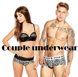 Hero Couple underwear /valentine day collection