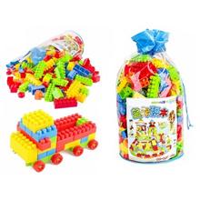 200pcs Plastic Square Kids Building Bricks Creativity Bricks Toy Design Building Block Enlighten Edu
