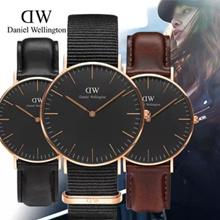 Qoo10 Subsidized! 2 Years Warranty-100% Authentic DW new pattern★CLASSIC BLACK★Daniel Wellington watch★40mm/36mm