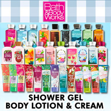 [SUPER SALE][100% Authentic] Bath and Body Works Shower Gel Body Cream Body Lotion