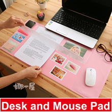 2-In-1 Desk Mouse Pad Desktop Mat Table Pad Daily Planner Waterproof Large Work Office Stationary