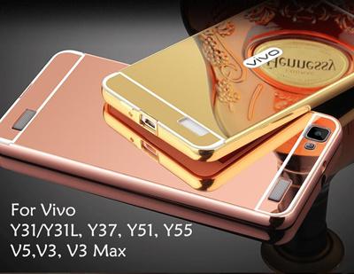 Qoo10 - Vivo V5 V3 V3 Max Y31 Y31L Y37 Y51 Y55 Mirror Bumper