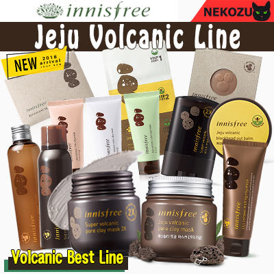 Renewal!! [innisfree] Jeju Volcanic Line/ Pore Clay Mask/ Toner/ Cleansing Foam/ Scrub/ Soap Deals for only RM0.22 instead of RM0